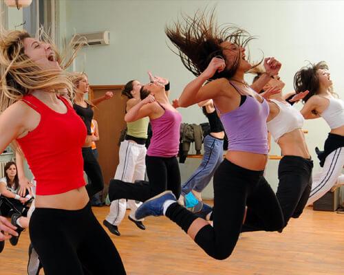 Activité danse et fitness