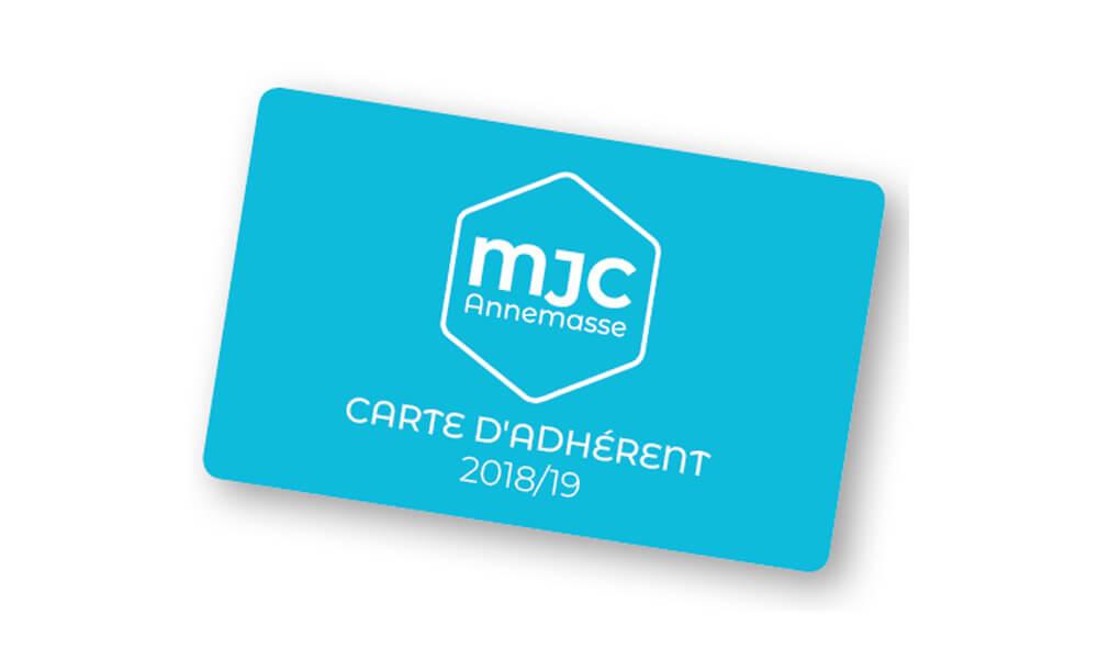 Carte adhésion MJC Annemasse